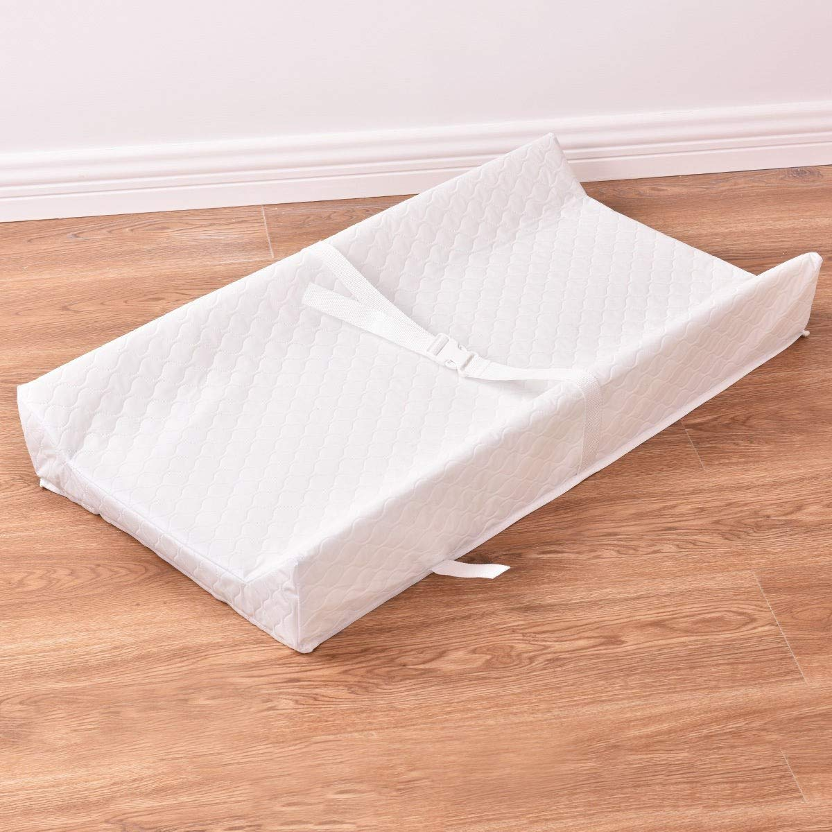 Mandycng 32'' Contour Changing Baby Pad Waterproof Nursery Cushion, Easy to Clean Quilted Cover W Non-Skid Bottom, Fits to Standard Tables Dresser Tops for Best Infant Diaper Change by Mandycng