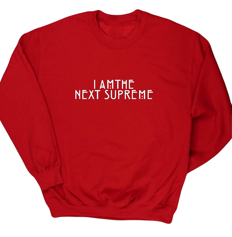 HippoWarehouse I am the next supreme jersey sudadera suéter derportiva unisex niños niñas: Amazon.es: Ropa y accesorios
