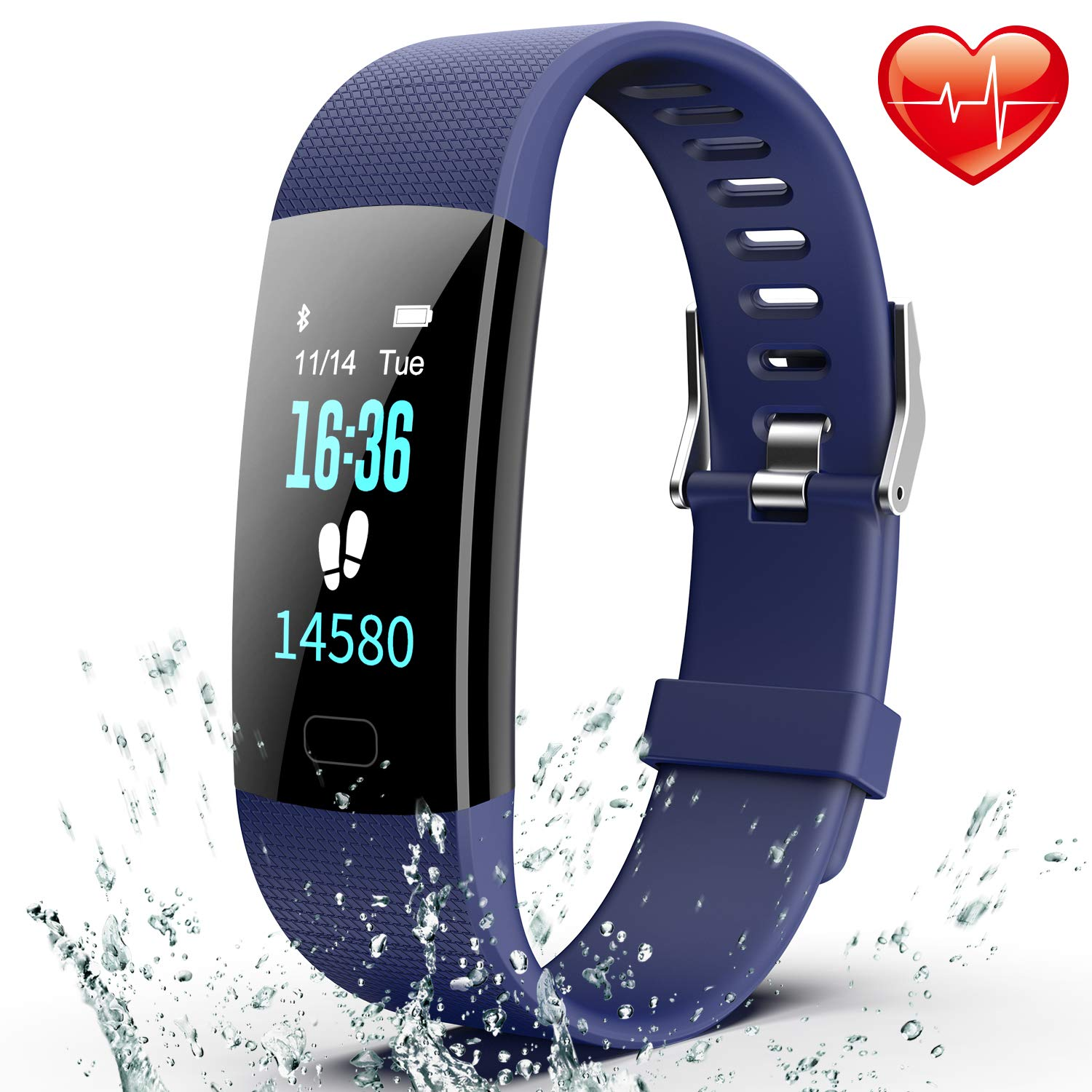 Fitness Tracker, Colorful Activity Tracker Watch