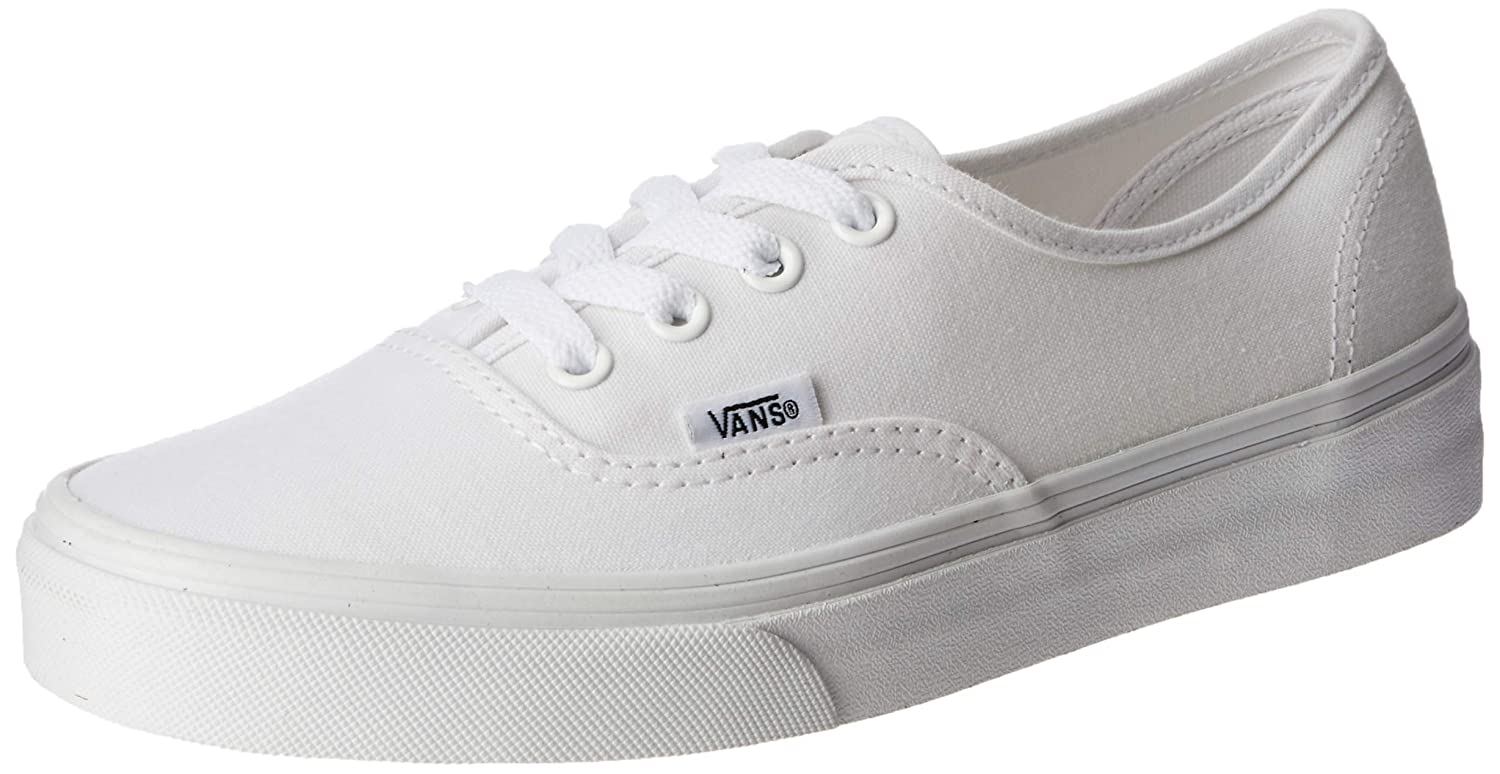 [バンズ] スニーカー Women's AUTHENTIC (Pig Suede) VN0A38EMU5O レディース B076Z9G6ZF ホワイト(True White) 38 M EU / 6 D(M) US 38 M EU / 6 D(M) US|ホワイト(True White)