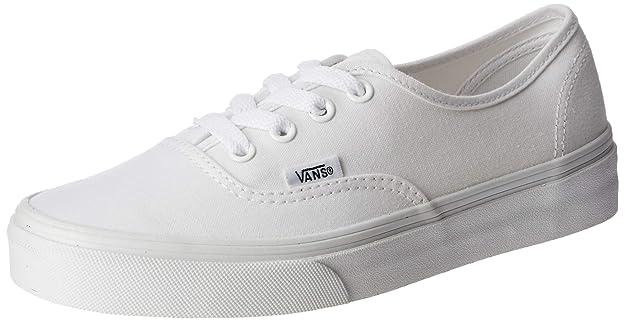 Vans Herren Authentic Core Classic Sneakers (10 M US, True White)