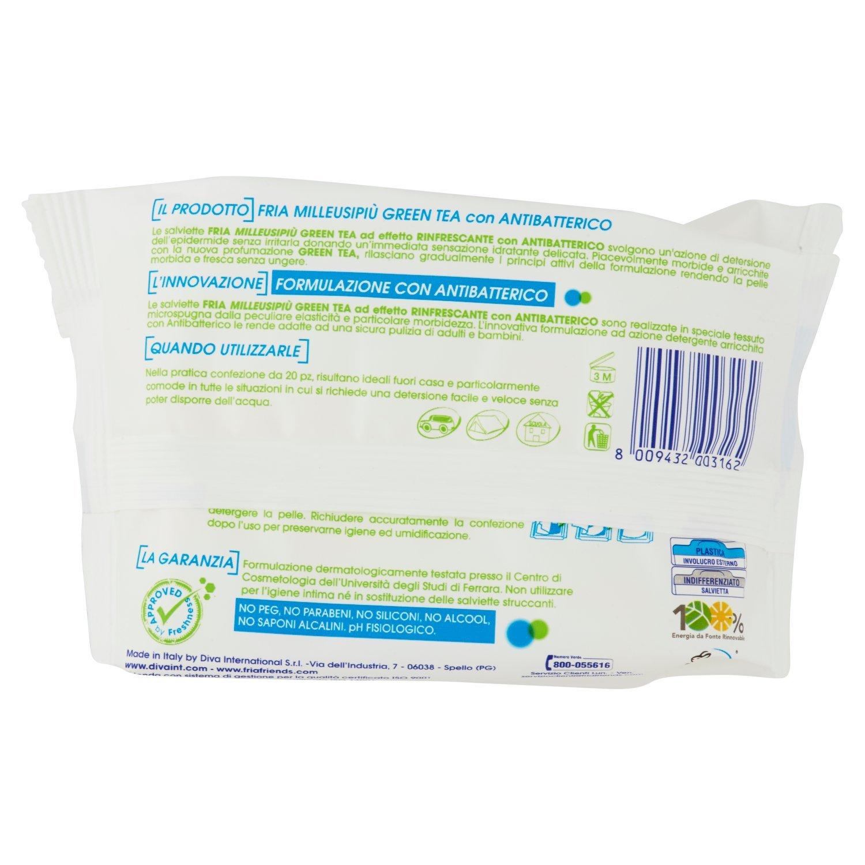 Fria - Toallitas Refrescantes - Multi uso - 20 toallitas: Amazon.es: Belleza