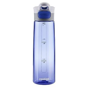 Contigo Trinkflasche Grace Botella de Agua con Dispositivo antigoteo, Cobalto, 750 ML