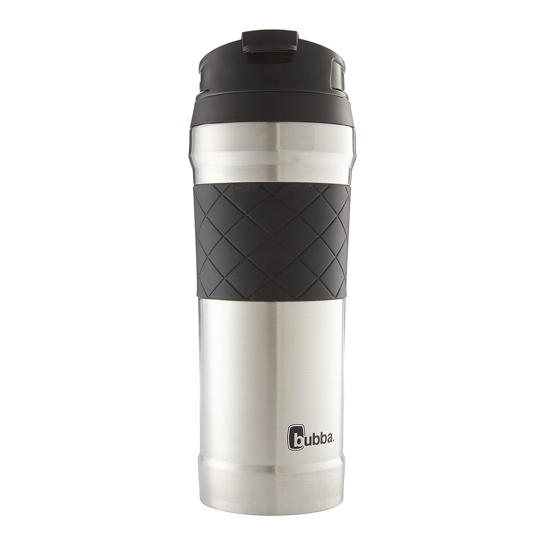 Hero Elite Vacuum Insulated Stainless Steel Travel Mug with TasteGuard, 16 oz. Black Bubba Brands 20089