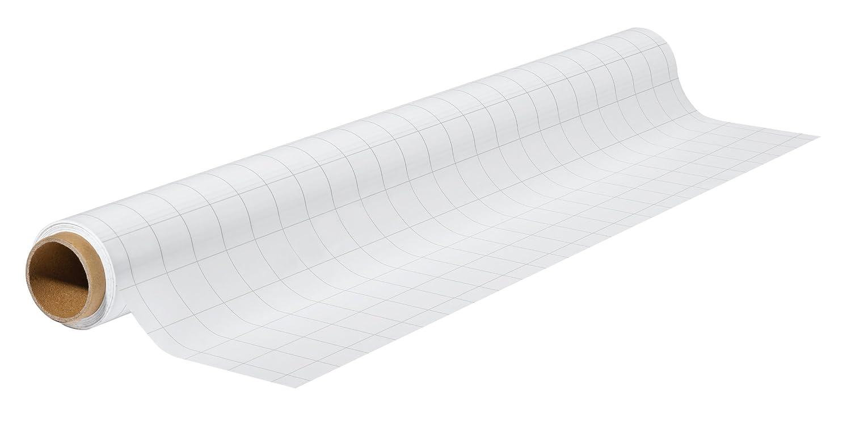 Franken SF2011 X-tra Line Chart - Rotolo di pellicola per lavagna in polipropilene, a quadretti, colore: bianco, 0,8 m x 60 cm