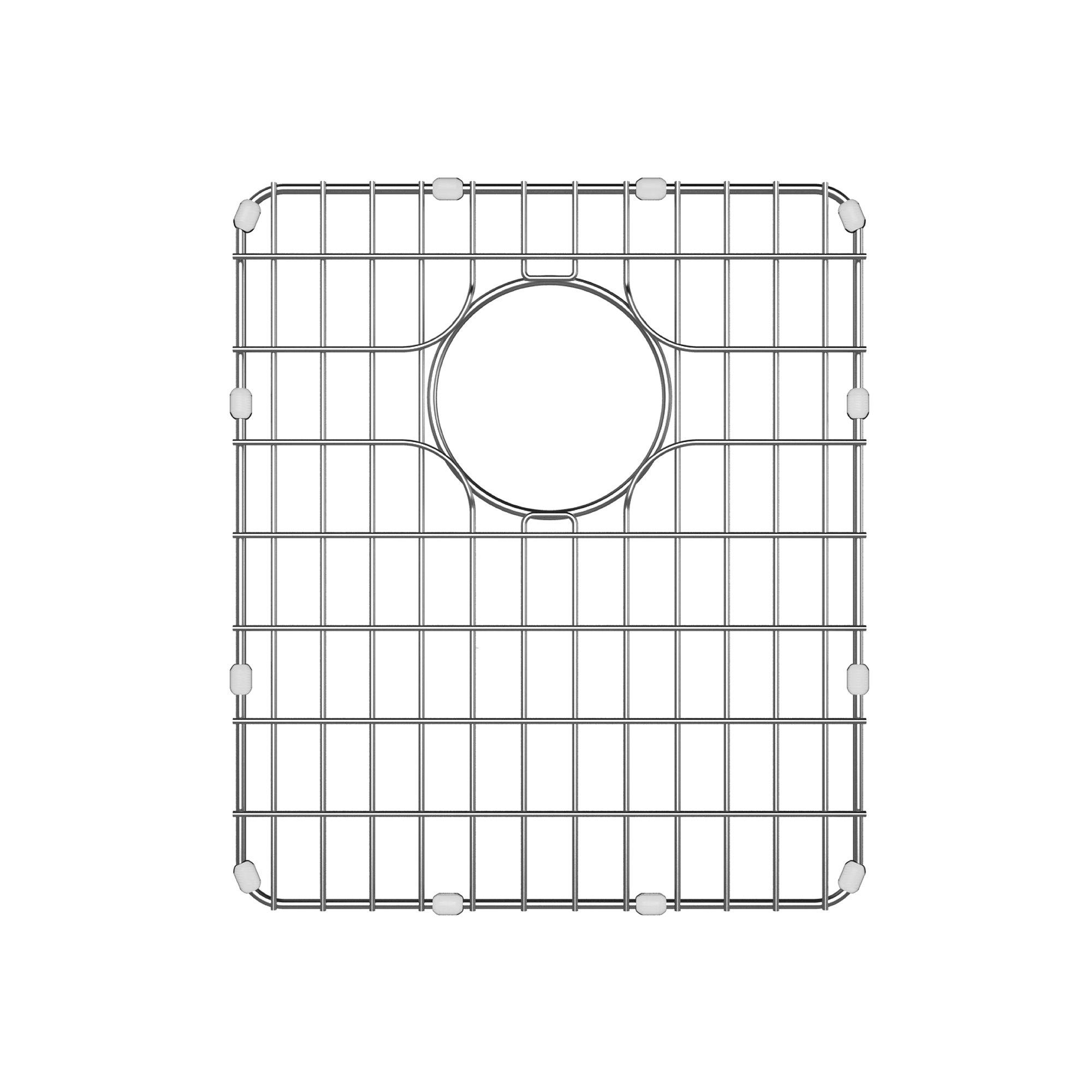 Kraus BG1517 Stainless Steel Bottom Grid for KD1US17B Kitchen Sink, 12.8'' x 14.8'' x 1''