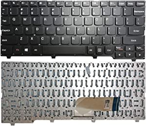 GinTai Laptop Keyboard US Layout Replacement for Lenovo Ideapad 100S-11IBY 100S-11IBY - Type 80R2