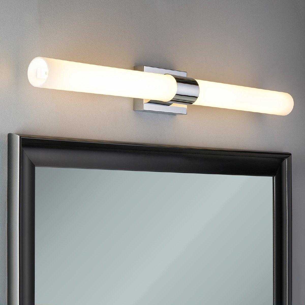 Perpetua 42 Inch Led Bathroom Vanity Light Chrome Linea Di Liara Basement Wiring Diagram Before Installing The Ll Sc944 Pc