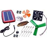 NASA Tech Multipurpose Multi-Project Solar Energy Solar Alarm, Solar Light, Solar Fan II Solar Educational learning kit