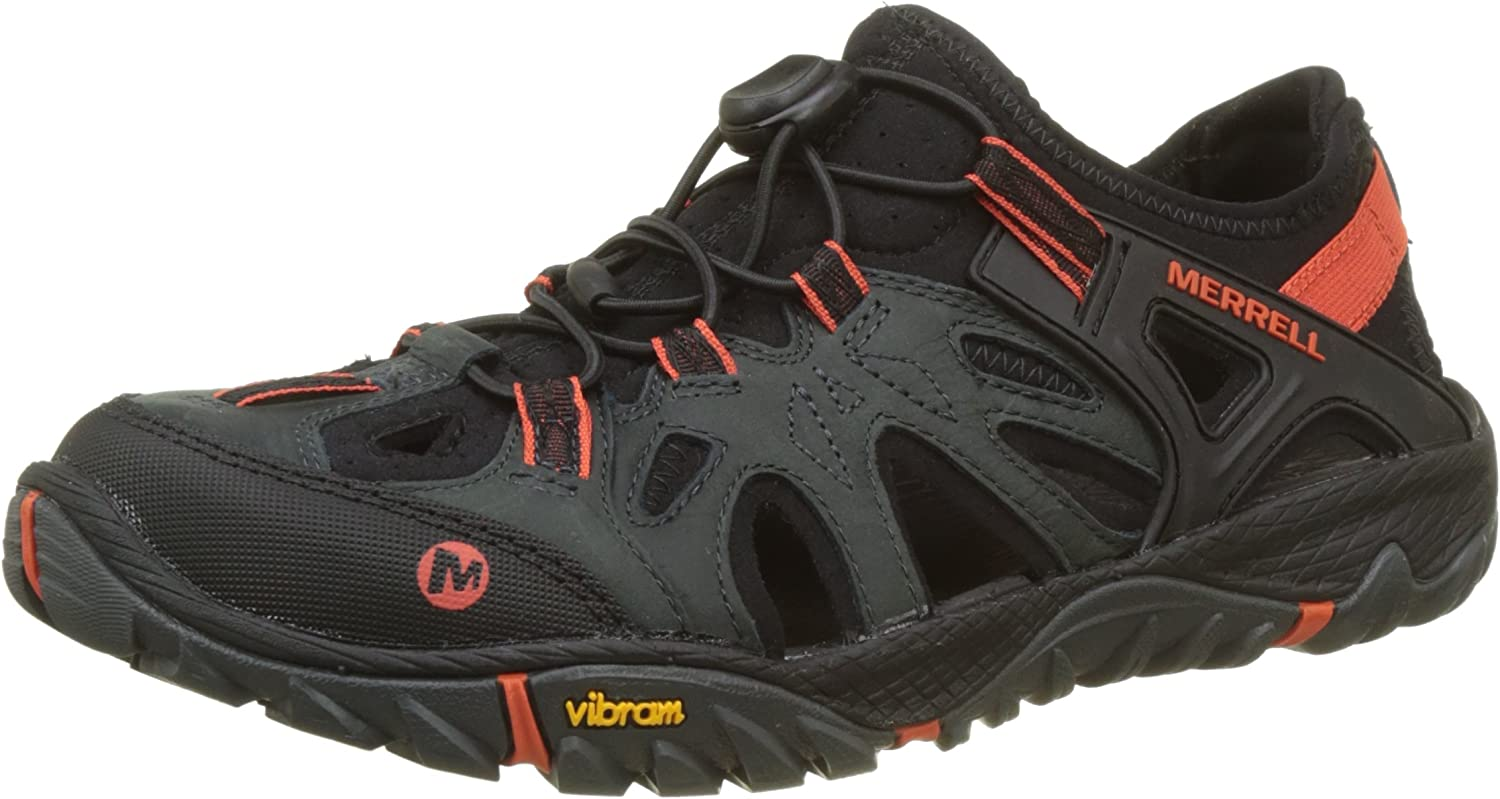 santo scrittura cascante  Amazon.com | Merrell Men's All Out Blaze Sieve Water Shoes | Hiking Boots