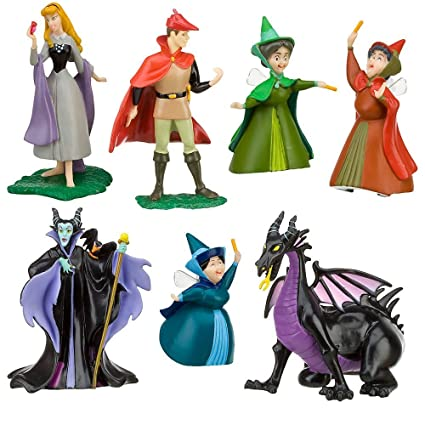 Buy Disney Sleeping Beauty Figure Play Set(7 Piece) Online