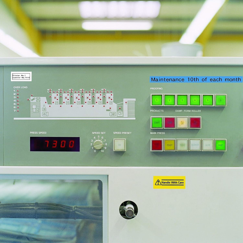 54 x 40 x 38 mm Tinta etiquetadora Casio XA-12YW1-W-EJ amarillo