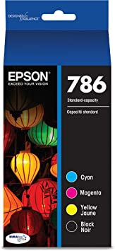 Epson T786120-BCS DURABrite Ultra Black and Color Combo Pack Standard Capacity Cartridge Ink