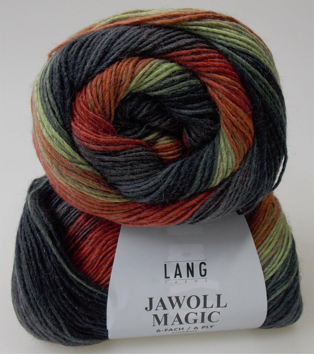 150 g Jawoll Magic 6-fädig Sockenwolle, Fb. 0087 - neue Farbe 2015 ...