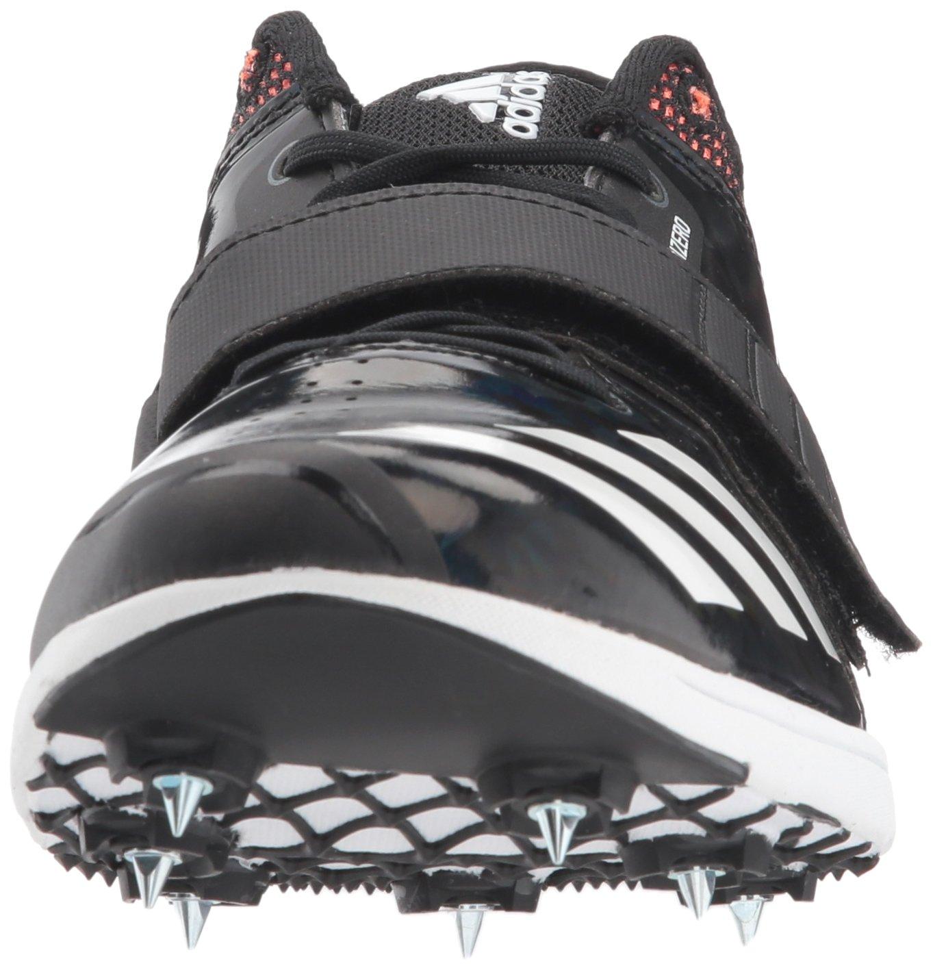 adidas Adizero tj/pv Running Shoe core Black, FTWR White, Orange 13.5 M US by adidas (Image #4)