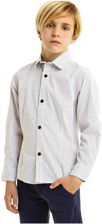 Ido Camisa Niño 4U400 Blanco: Amazon.es: Ropa y accesorios