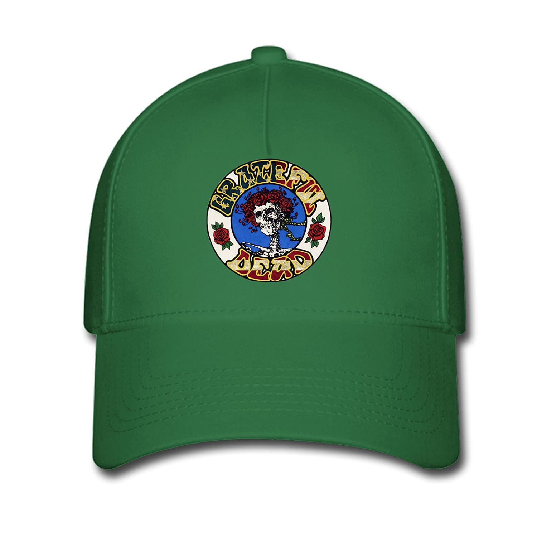DEBBIE Unisex Custom Steal Your Face Grateful Dead Baseball Caps Hat One Size