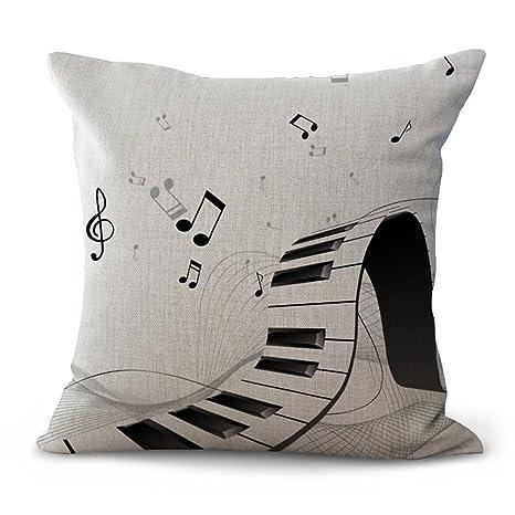 JINGXINSTORE Notas musicales Instrumentos musicales ropa de ...