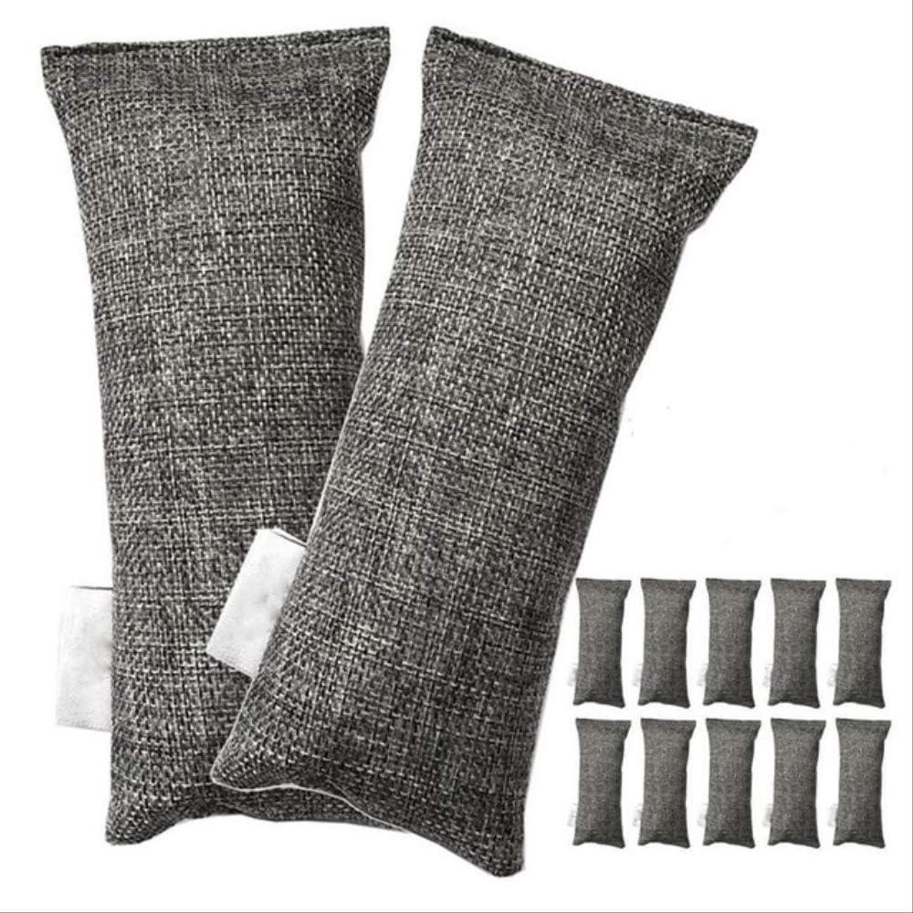 12 paquetes de cada mini bolsas de carbón de bambú Purificador de ...
