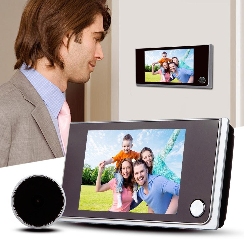 Occitop 3.5 inch LCD 120 Degree Peephole Viewer Door Eye Doorbell Camera by Occitop (Image #2)