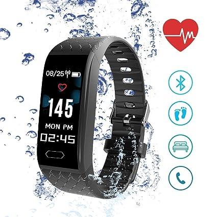Reloj Inteligente, ISENPENK Smart Watch Pulsera Pantalla táctil Hombres Mujeres Niños,Pulsómetro, Monitor