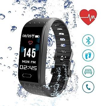 ISENPENK Montre Connectée, Smartwatch avec Écran OLED de 0,96 Montre Sport