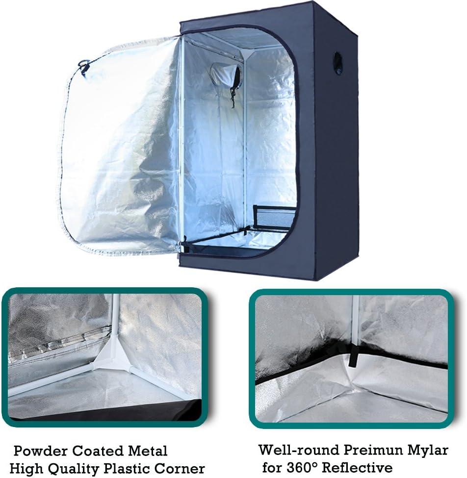 Lightproof and Waterproof 120x60x150 cm Hydro Box Finether 120x60x150CM Hydroponic Grow Tent