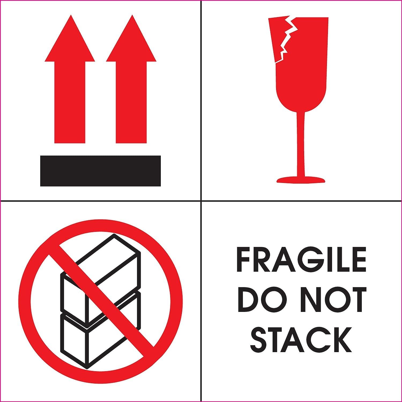 amazon com ace label preprinted fragile do not stack shipping rh amazon com fragile lord fragile lower back
