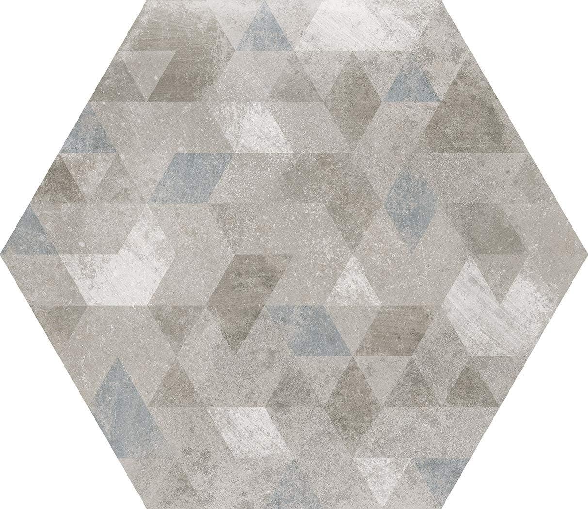 Color Grey Antislip Colecci/ón Micro Nais - Caja de 1 m2 Baldosas cer/ámicas para suelos 25 piezas 20x20 cm