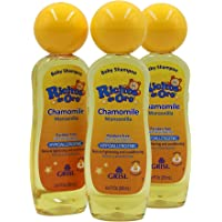Ricitos de Oro Chamomile Manzanilla, Baby Shampoo, Cleansing, Conditioning and Lightening Baby Shampoo, Lightens…