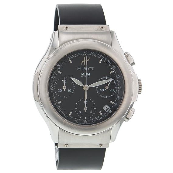 Hublot - Reloj de pulsera hombre, caucho, color negro