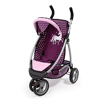 Amazon.es: Bayer Design Cochecito muñecas, Color Pink, Purple (39937AA): Juguetes y juegos