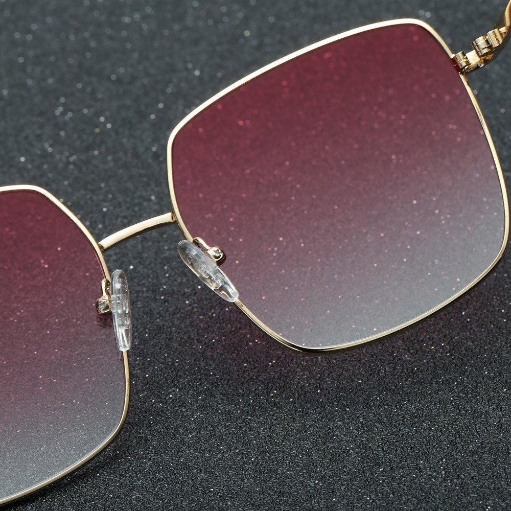 Dream/_mimi Unisex Vintage Eye Sunglasses Retro Eyewear Fashion Glass Radiation UV Protection