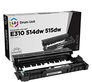 LD Compatible Drum Cartridge Replacement for Dell 593-BBKE C2KTH
