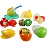 Kitchen Fun Cutting Fruits Super Food Playset for Kids