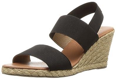 51cb5c0f9a8 Amazon.com  André Assous Women s Allison Espadrille Wedge Sandal  Shoes
