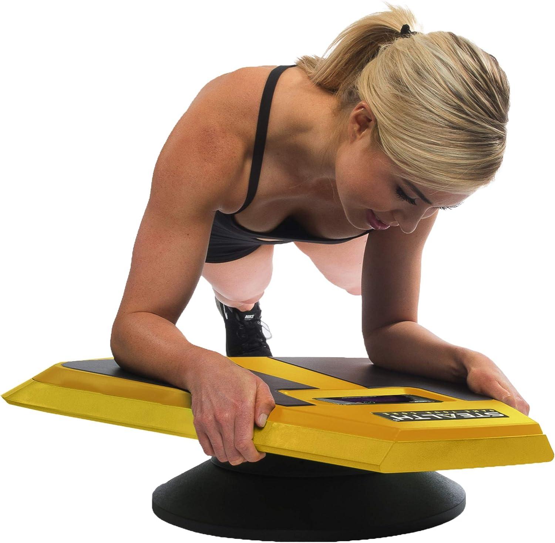 Stealth Plankster - Dinámica AB Plank Entrenamiento, Fitness Interactivo Junta Desarrollado por Gameplay Tecnología para una Espalda Sana y Fuerte ...