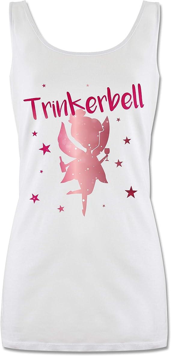 Team Trinkerbell mit Flaschen Tanktop f/ür Damen und Frauen Tops Karneval /& Fasching Shirtracer