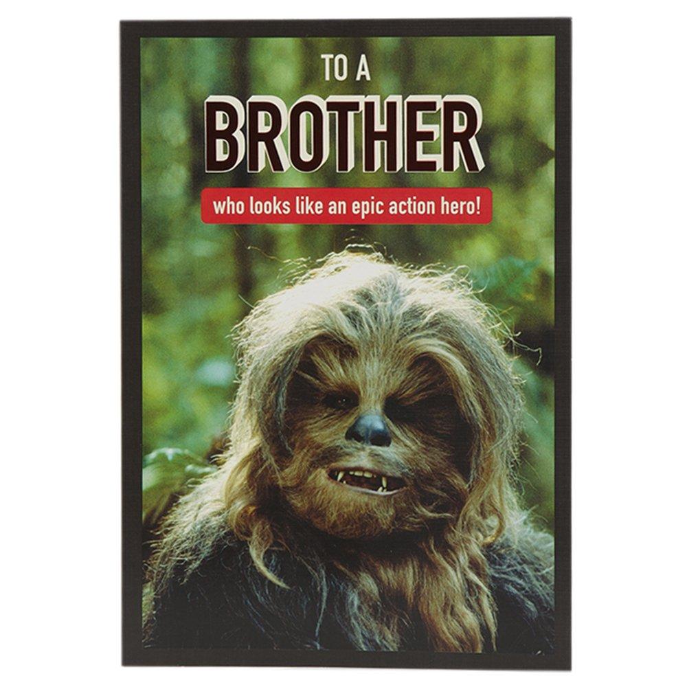 Hallmark Star Wars Birthday Card For Brother Epic Action Hero