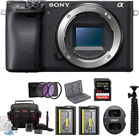 Sony ILCE6400B product image 9