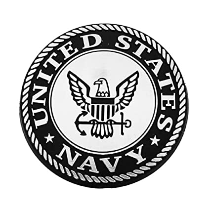 Amazon United States Navy Silver Tone 3 D Auto Emblem Sports