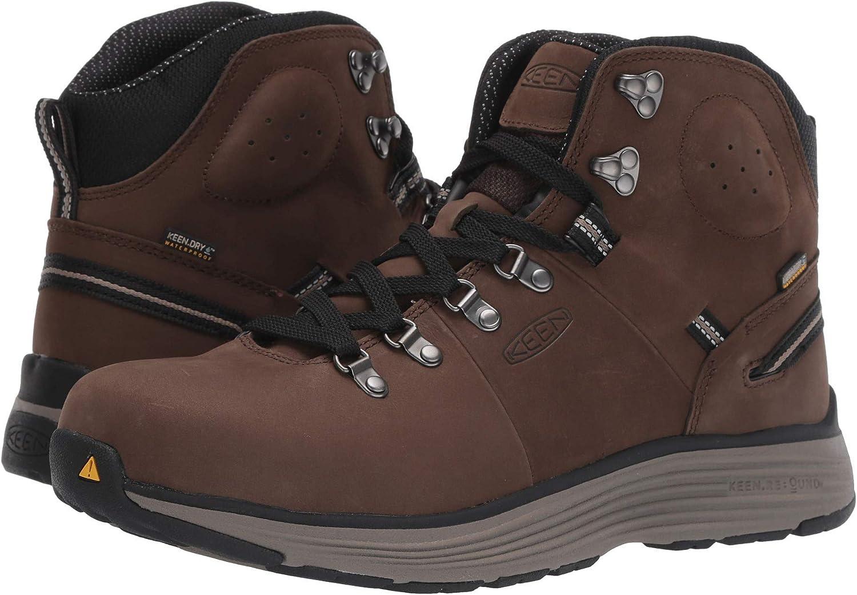 [キーン] メンズハイキングアウトドアブーツ・靴 Manchester 6 Cascade Brown/Brindle 9.5 (27.5cm) D - Medium [並行輸入品]