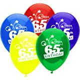PartyMate 24733 Printed Latex Balloons, Standard Assortment