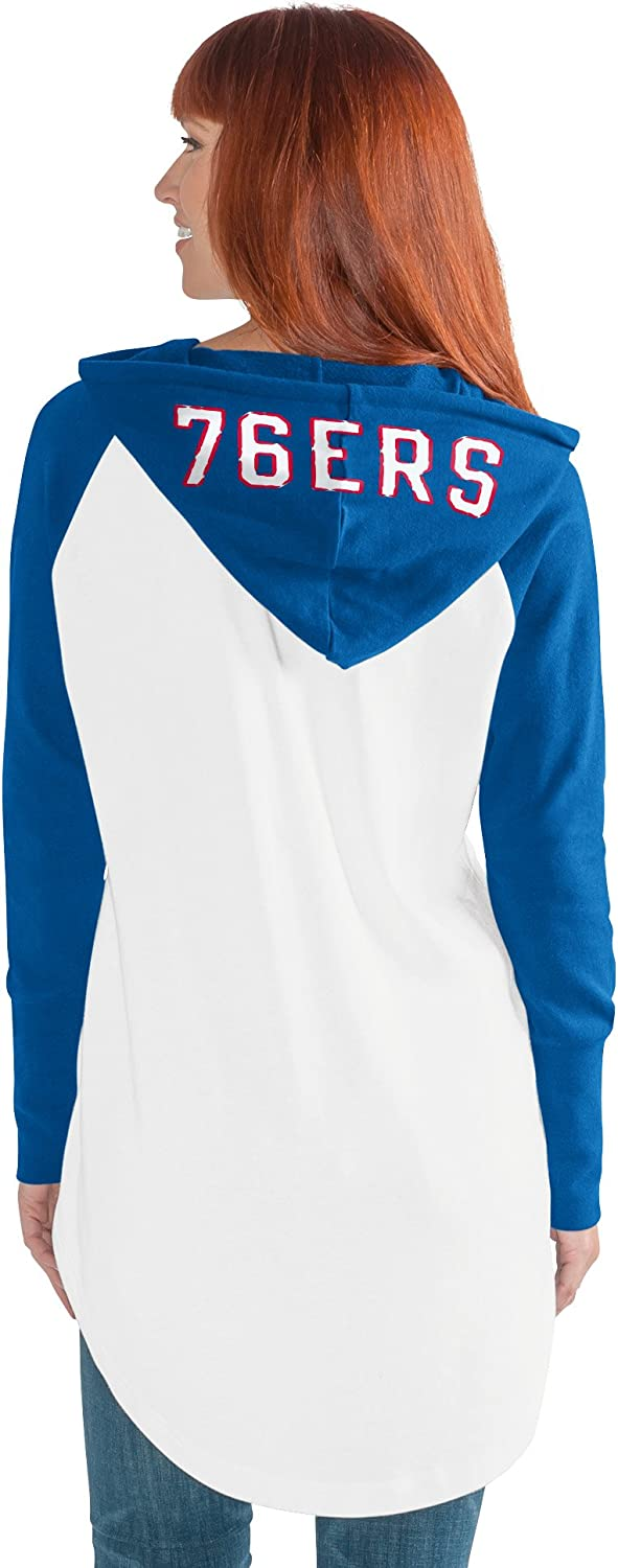 GIII For Her NBA womens All Division Tunic Hoody