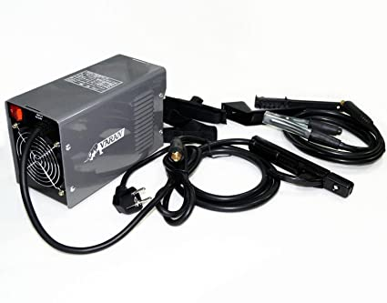 Máquina de soldar por arco eléctrico portátil MMA Mini-220 inversor, pantalla digital +