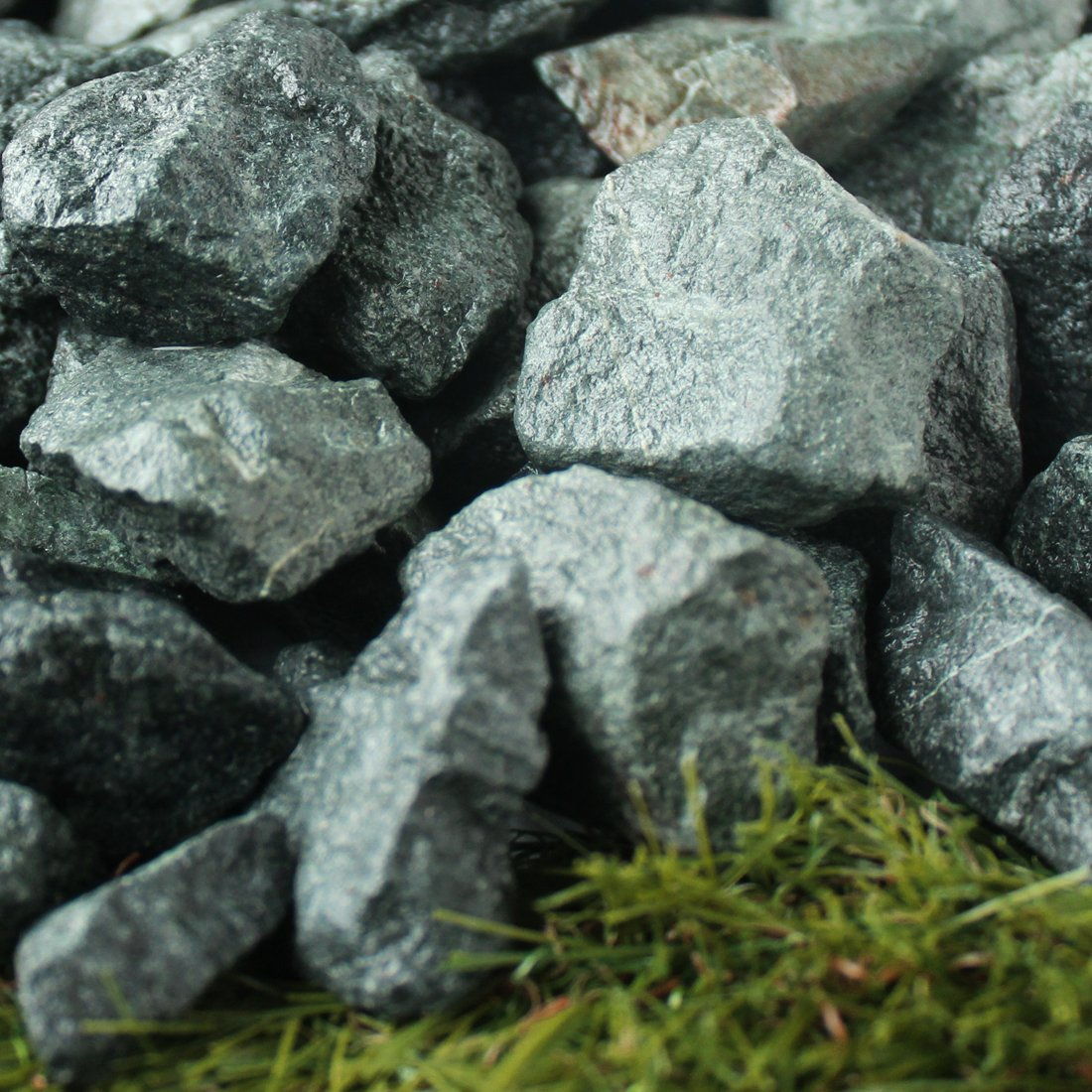 青砕石 30-50mm 20kg(11.1L)×10袋セット 【200kg】 B01M0FJOQM  200kg