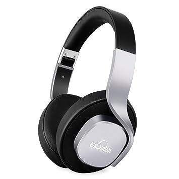iDeaUSA - Auriculares inalámbricos plegables con Bluetooth, 20 horas de autonomía