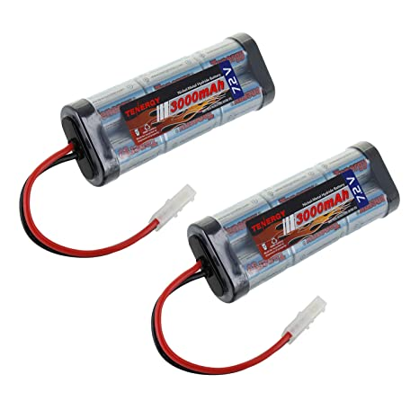 Please Check Out Nimhs New And >> Amazon Com Tenergy 7 2v Battery Pack High Capacity 6 Cell 3000mah