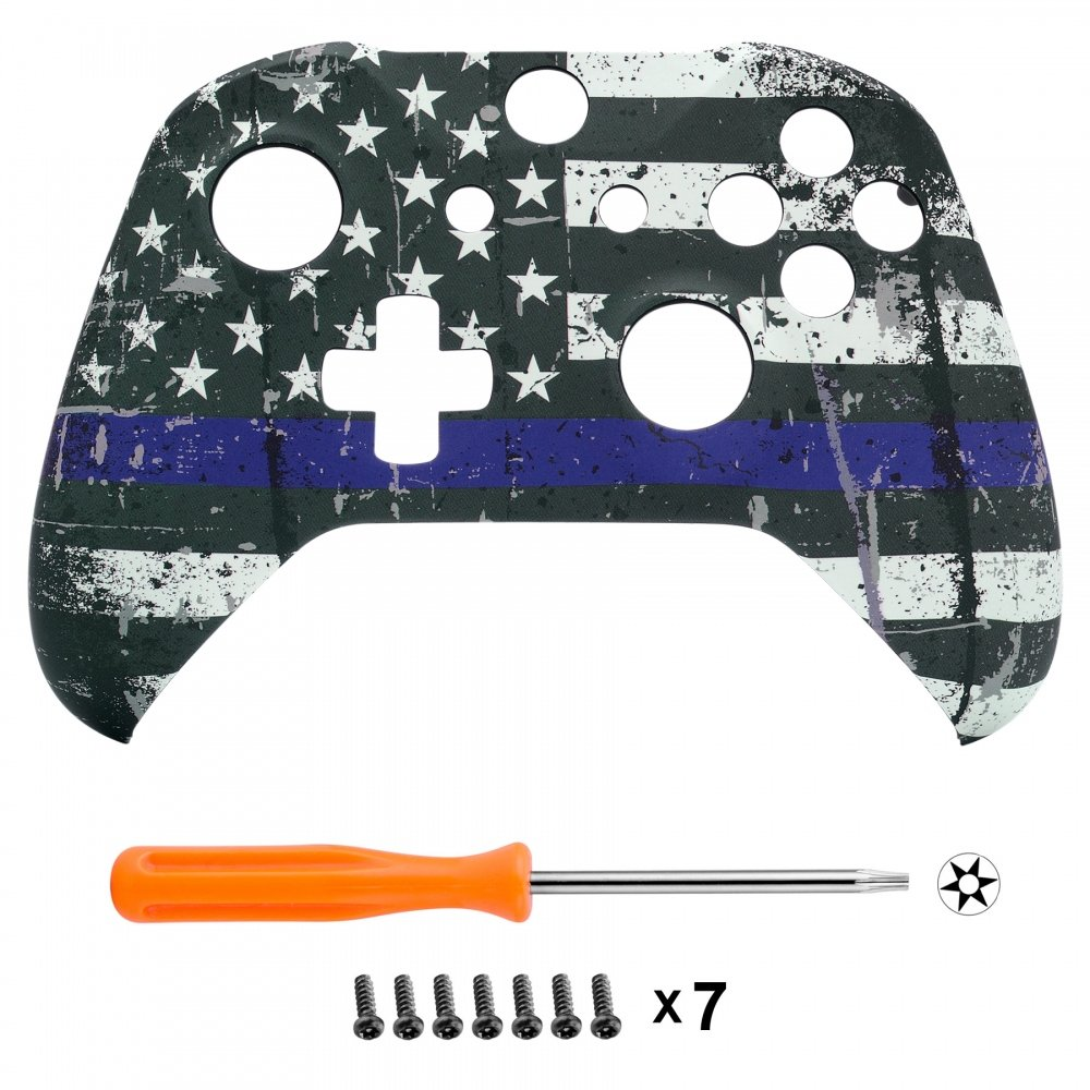 eXtremeRate Custom Patterned Front Housing Shell Faceplate for Xbox