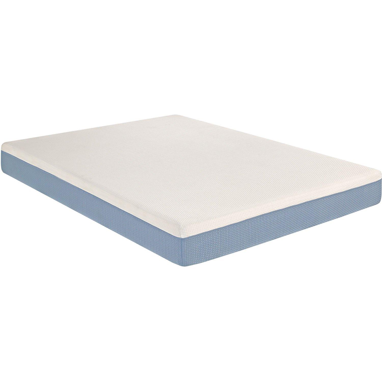 amazoncom hanover hmatmf10tn tranquility memory foam mattress twin white kitchen u0026 dining